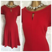 Bnwt NEXT DRESS SIZE 22 Curve Red Occasion Evening Party Business Work Formal