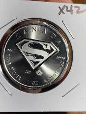 2015 Canada SUPERMAN 1 oz Silver Coin X42