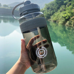 🔥Large Capacity Water Bottle Sports Drinking Outdoor Portable Kettle with Straw