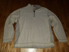 Mens Tommy Bahama XL Reversible Long Sleeve Pullover Quarter Zip