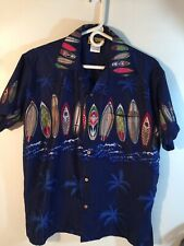 In Gear Mens Sz Med Short Sleeve Shirt 100% Polyester Preowned