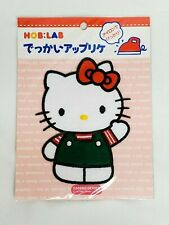 "Vintage 1994 Sanrio HELLO KITTY Large 5.5"" IRON-ON Patch Made in Japan RARE NEW"