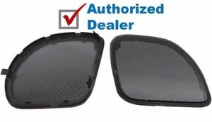 Hogtunes Mesh Front Fairing Speaker Grill Grilles Covers Harley Road Glide 15-20