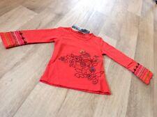 Catimini Langarm T-shirt Rot Gr. 98 (3 Jahre) Neu mit Etikett