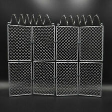 1/6 Scale Barbed Wire Fence Prison Fence Removable For 12