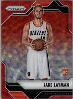 2016-17 Panini Prizm Prizms Ruby Wave #279 Jake Layman - NM-MT