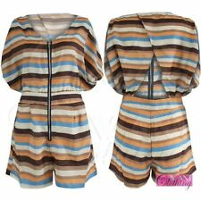 Polyester Regular Batwing Jumpsuits & Playsuits for Women