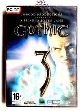 Gothic 3 PC Nuevo Precintado Retro Videogame Videojuego Sealed Brand New PAL/SPA