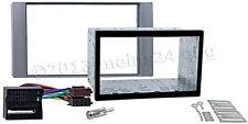 FORD Transit Radio Blende Auto Doppel 2 DIN Einbau Rahmen MOST Adapter ISO SET