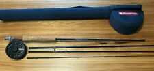 New Redington 690-4 Crosswater Fly Fishing Combo, Rod, Reel, Case-Never Fished