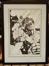 Exclusive Green Lantern Comic Book Art LE 200  by Gil Kane Signed !! RARE Framed
