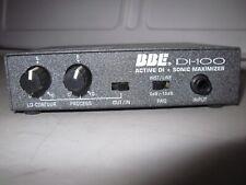 Bbe Di-100 active direct box with processor