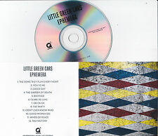 LITTLE GREEN CARS EPHEMERA RARE 12 TRACK PROMO CD
