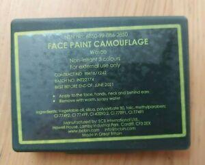 Genuine British Army 3 Colour Face Paint Camouflage-Camo Cream