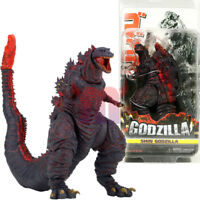 "NECA Shin Red Godzilla 6"" Action Figure Kaiju 12"" Head Tail Movie Classic 2016"