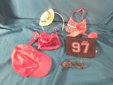 Build a Bear Accessories: Head Band, Bags, and Glasses