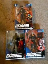 G.i. joe classified. Destro..snake eyes..cobra commander