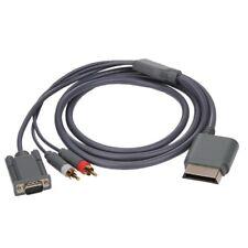 New Xbox 360 VGA Component Audio Cable & 2RCA