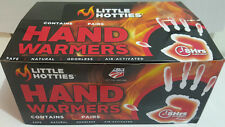 Little HOTTIES 40 Pairs 80 Hand Warmers Heat Pack Socks Heater Snow Ski warmer