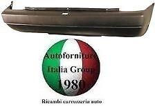 PARAURTI POSTERIORE POST NERO FIAT UNO 84>89 1984>1989 1° SERIE