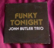 JOHN BUTLER TRIO - FUNKY TONIGHT - CD SINGLE