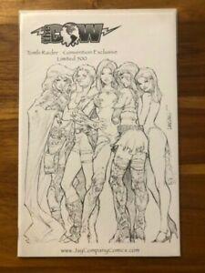 Tomb Raider #25 Jay Co Company sketch variant lim. to 500