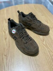 New Balance MX608 Size 10.5 Suede Brown Sneakers