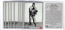 1X JOE LOUIS 1991 All World Boxing #103 Lots Available IBF WBC