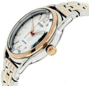 FE6086-74A,CITIZEN Eco-Drive Watch,180 Day Power Reserve,Stainless Steel,WR,Lady