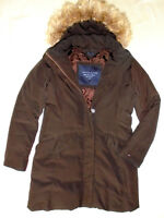Tommy Hilfiger Damen Jacke Mantel Daunen Winterjacke Ladies Jacket Fell Gr M L