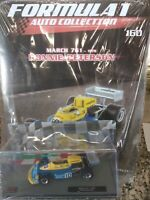MARCH 761 RONNIE PETERSON 1976 FORMULA 1 AUTO C. #160 MIB 1:43 DIE-CAST