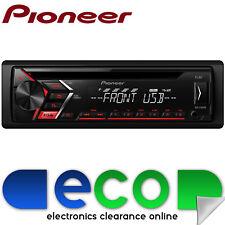 Pioneer 4 X 50 VATIOS CAR STEREO RADIO reproductor de CD MP3 Radio Usb Aux Pantalla de Color ámbar