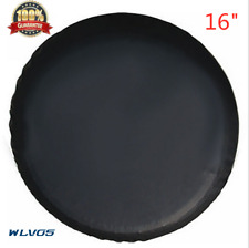 Car Spare Wheel Tire Cover 16inch Fit For HONDA CRV Black Heavy Vinyl Tire Cover
