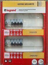 Legrand Tableau de protection électrique prééquipé et précâblé 2 étages neuf