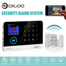 Digoo DG-HOSA Android IOS WIFI GSM SMS Wireless Smart Burglar Alarm Systems Kits
