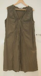 Virtuelle Khaki Summer Dress    ~Size 14~