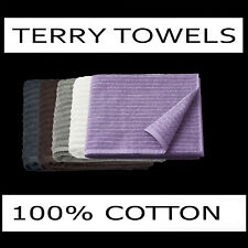 BATH TOWELS LARGE 100% COTTON TERRY HIGHLY ABSORBENT WITH HOOK 59x39 28x55 12x12