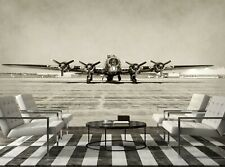 Old Bomber  Photo Wallpaper Wall Mural DECOR Paper Poster Free Paste