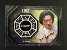 Rittenhouse Lost Dharma Patch Card Jin Kwon DP8 062/250