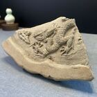 China antique DRAGON Relief Eaves tile  found in site of Palace of ming dynasty