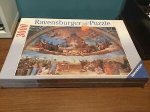 3000 Pieces Jigsaw Puzzle Ravensburger Raphael Fresco Triumph Of Religion 170555