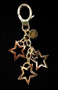 NEU George Gina Lucy Schlüsselring Sterne Keyrings *KEY2stars* gold