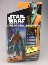 Star Wars Clone Wars-Greedo Saga Leyenda cardada figura SL04 escaso