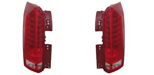 Driver and Passenger Side Taillight For 2010-2016 Cadillac SRX