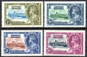 Northern Rhodesia 1935 Silver Jubilee set of 4, SG.18/21, mint, cat.£20