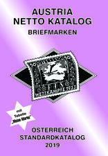 AUSTRIA NETTO KATALOGE - ANK Briefmarken Österreich Standard 2019