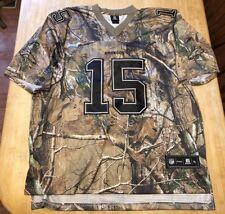 RARE Mens Denver Broncos Camouflage Tim Tebow Reebok STITCHED Jersey XL