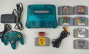 Nintendo 64 Jap - CLEAR ICE BLUE - N64 JAP - limited - ZELDA - EXPANSION PAK