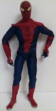 """SPIDER-MAN - Rare 11"""" Action Figure With Fabric Suit 2012 Posable Marvel Hasbro"""