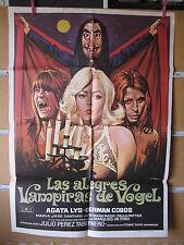 A1021 LAS ALEGRES VAMPIRAS DE VOGEL AGATA LYS GERMAN COBOS